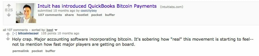 QuickBooks Online takes Bitcoin payments - beginners guide to online accounting software