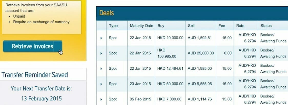 Saasu's Forex feature - the beginners guide to online accounting software