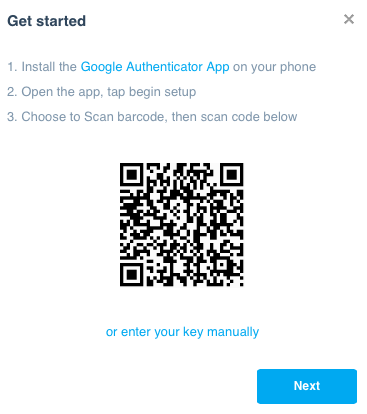 GoogleAuthenticatorXerosetup