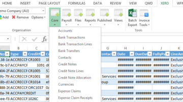 How to Use Excel to Automate Processes in Xero and QBO: ABE19