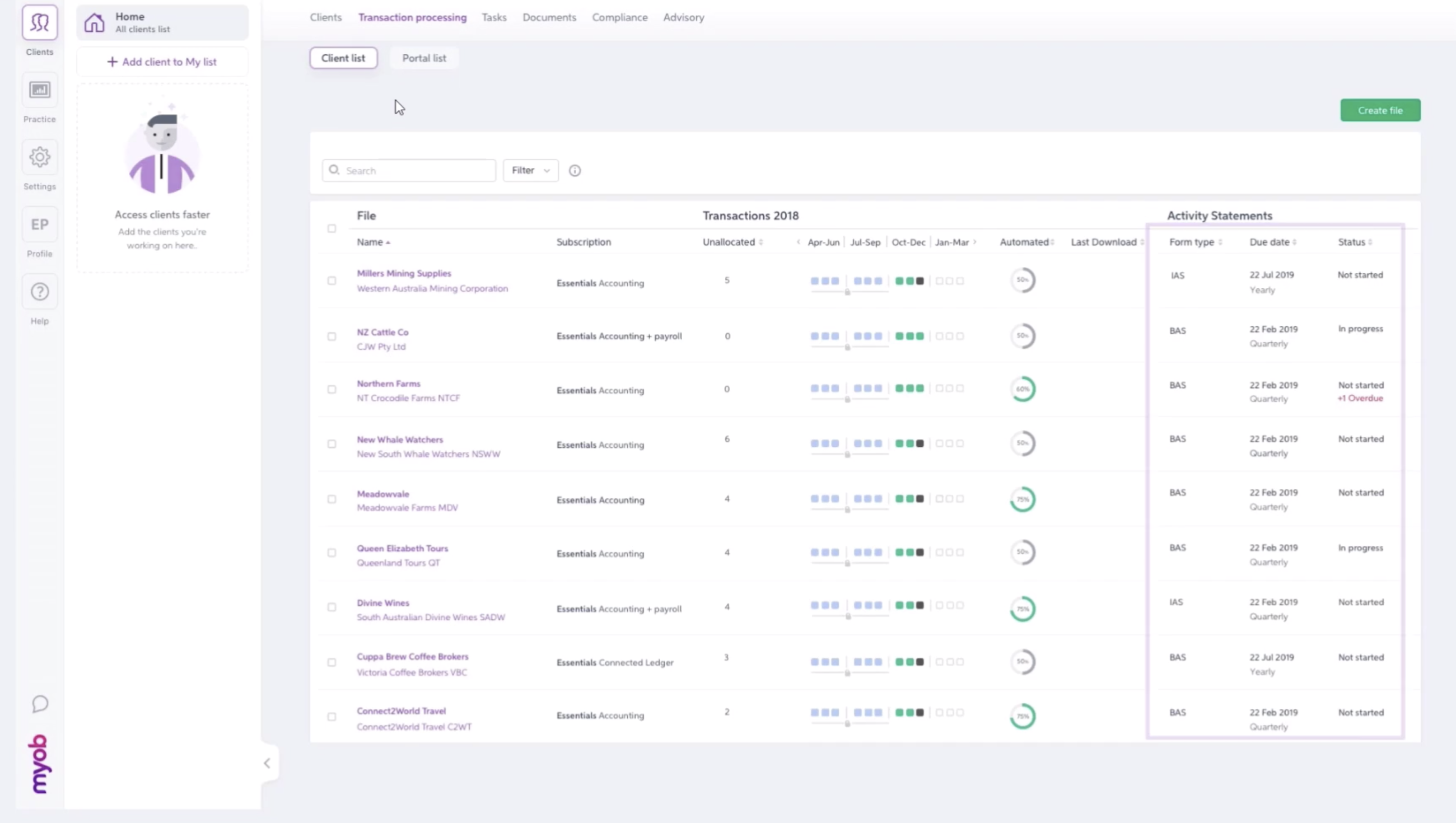 MYOB Gives Fans First Taste of Connected Practice Vision